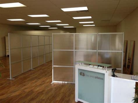 Zen Room Divider Zen Room Dividers To Separate Space At Bay Area Pilates Studio