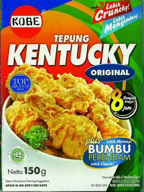 Tepung Kentucky Original 150g tokogembira tepung kentucky original 150g
