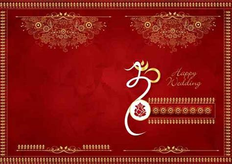 hindu wedding card templates enchanting hindu marriage invitation cards design free 35