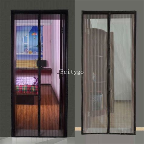 screen curtain door 2015 hot new mosquito mesh insect bug fly magnetic netting