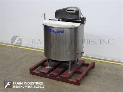Lava L Accessories by De Laval Canada Tank Processors 200 Gal For Sale 5g9012