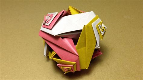 tutorial origami modular origami modular origami the ancient art of kusudama