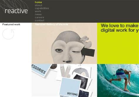 html reactive design 25 inspiring web design agency websites designers