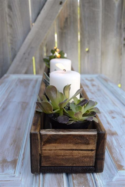 wood centerpieces for tables 32 best wood home decoration ideas and designs for 2018
