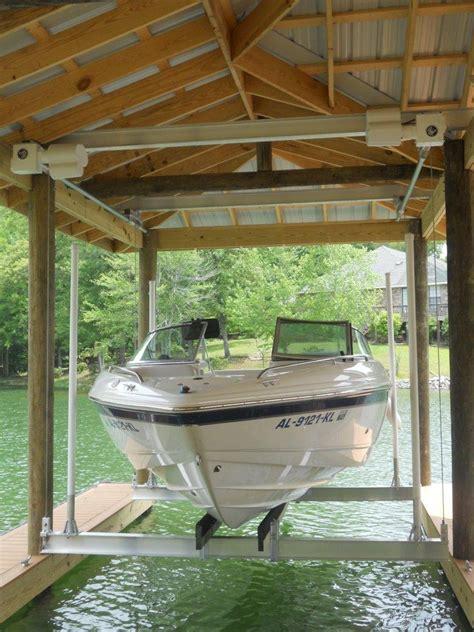 boat house lifts boat house lifts hi tide