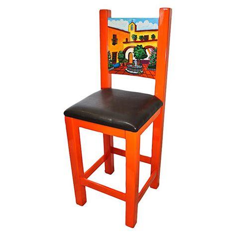 la candona collection painted hacienda bar stool lcc035 bs