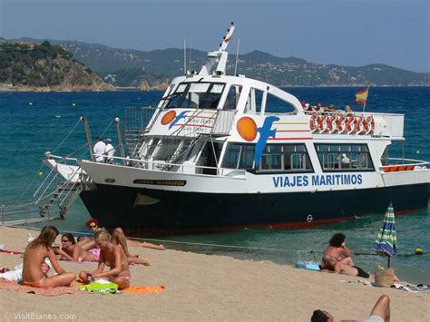 boat trips costa brava the beaches of blanes visit blanes