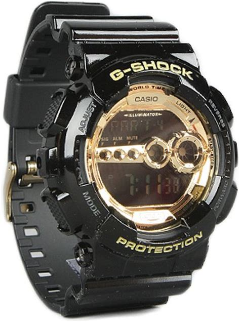 G Shock Gsd 100 Black g shock the gd 100 in black for lyst