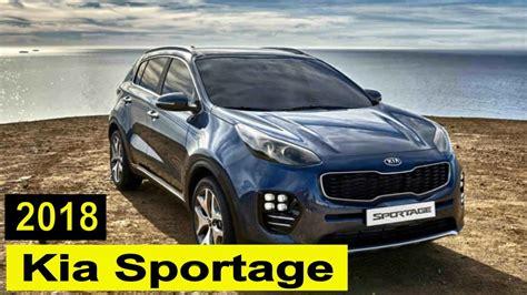 interior kia sportage 2018 kia sportage interior and exterior review