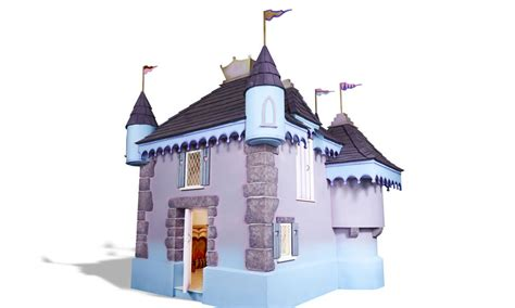 pretty princess castle luxury outdoor wooden playhouse