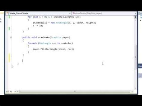 c tutorial snake game c sharp tutorial snake game part two controlling the