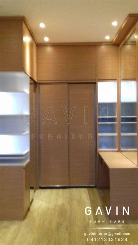 Meja Rias Sliding lemari sliding dengan meja rias kitchen set minimalis lemari pakaian custom hpl duco dan