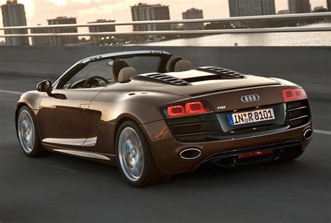 audi supercar convertible audi r8 spyder convertible supercar india launch details