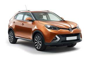 new mg cars third time s a charm new mg gs revealed by car magazine
