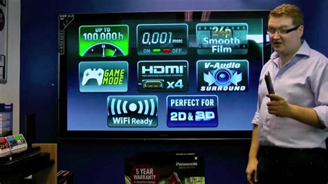 Tv Panasonic Viera D305 panasonic viera st30 smart tv review tx p42st30 tx p46st30 tx p50st30