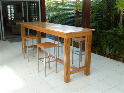 High Table Patio Set Patio Furniture High Table And Stools Chairs Seating