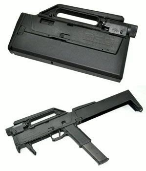 magpul fmg 9 folding machine gun collapsible machine gun