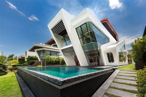 design villa mercurio design lab create a modern villa in singapore