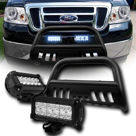 Ford F150 Led Light Bar by 04 14 Ford F150 Expedition Front Bumper Bull Bar Guard 36w Led Light Bar Black