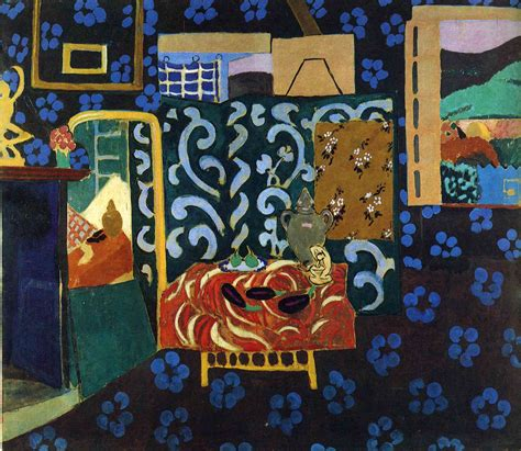 Matisse Interior With Eggplants still with aubergines henri matisse wikiart org encyclopedia of visual arts