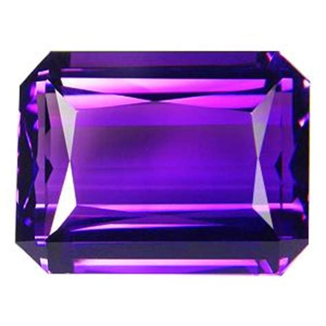 Purple Amethyst 11 Ct 11 45ct purple emerald cut amethyst gem 14771