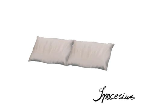 Bed Pillows 3 Spacesims Kvarc Bedroom Bed Pillows