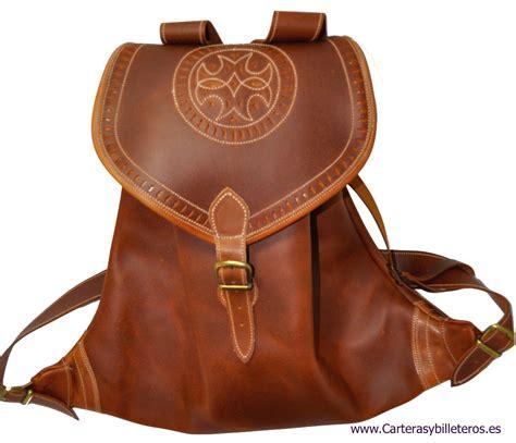 mochilas de cuero mochila en cuero hecha artesanalmente