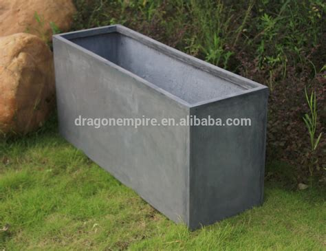 rectangular outdoor planters garden two row seed planters teracotta