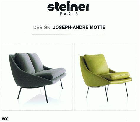 siege steiner steiner fauteuil et canape 800 siege meubles design
