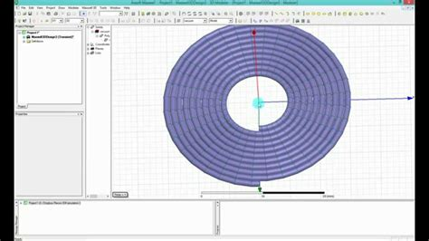 inductor simulation hfss ansys maxwell hfss how to model helix circular coil for wpt
