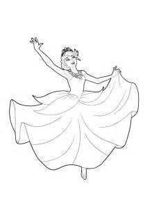 dibujos princesa colorear imprimir desde casa