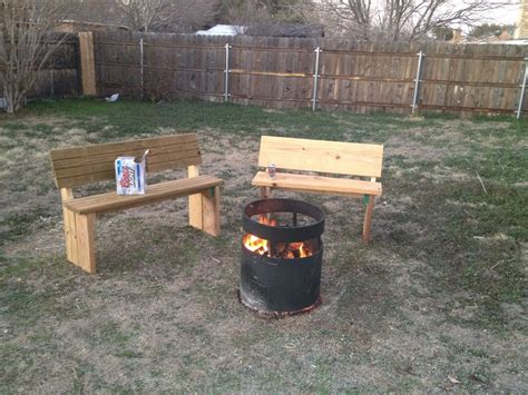 fire pit benches with backs outdoor fire pit benches 187 design and ideas
