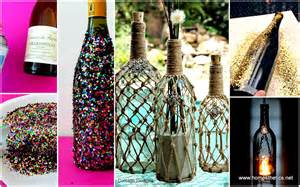 diy projects using wine bottles