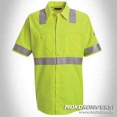 Baju Safety Lengan Pendek Baju Safety Logo desain baju seragam keselamatan kerja wearpack safety lengan panjang warna orange katalog