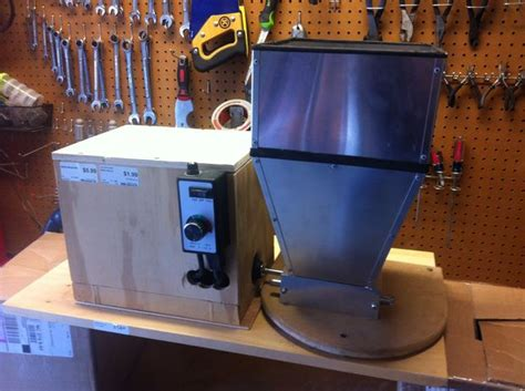 build a home brewing grain mill