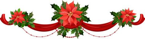 xmas swag png transparent garland with poinsettias png clipart gallery yopriceville high quality