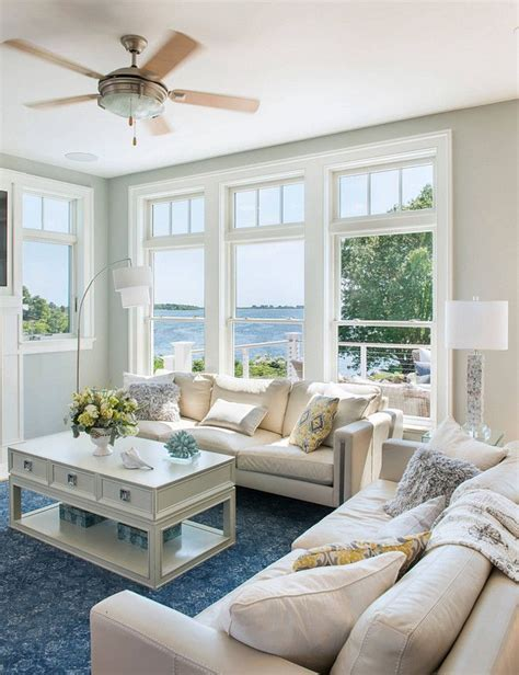 paint colors for living room casual cottage 25 best ideas about lake house family room on pinterest
