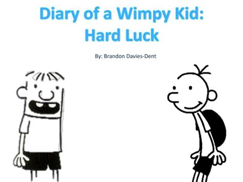 diary of a wimpy kid luck book report ppt diary of a wimpy kid luck powerpoint