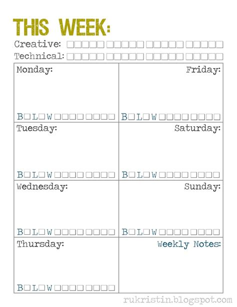 8 best images of free printable time management calendar
