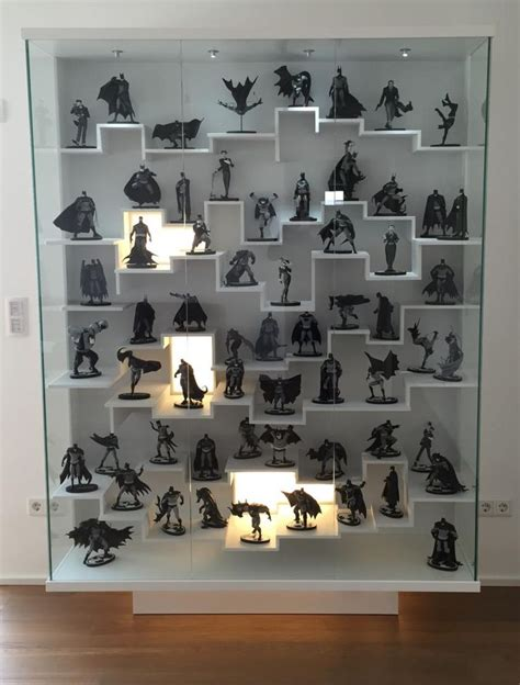 action figure display cabinet best 25 action figure display case ideas on pinterest