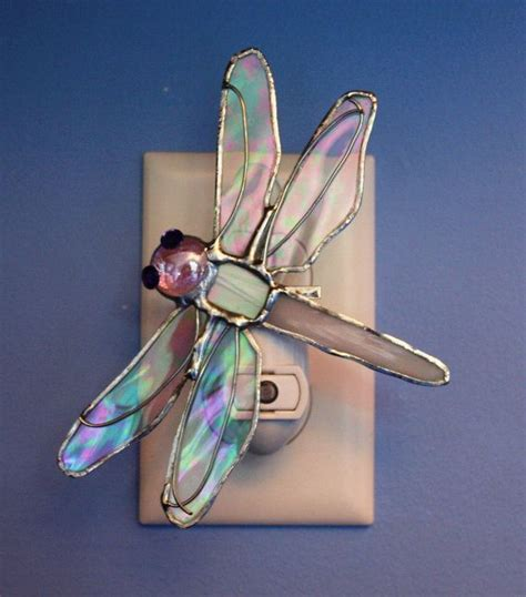 dragonfly stained glass l 442 best images about stained glass nightlights on