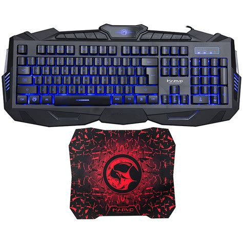 Marvo G1 Gaming Mousepad tastatura marvo k400 mousepad g1 it2go