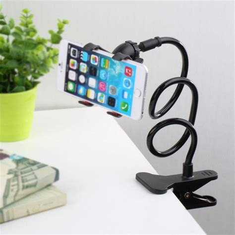 Lazy Tablet Phone Holder Duo phone holder universal 360 rotating arm lazy phone holder cl lazy bed tablet