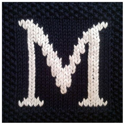 knitting patterns for letters of the alphabet pdf knitting pattern capital letter m afghan by fionakelly