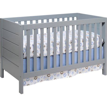 Mod Baby Crib by Baby Mod Modena 3 In 1 Convertible Crib Gray Walmart
