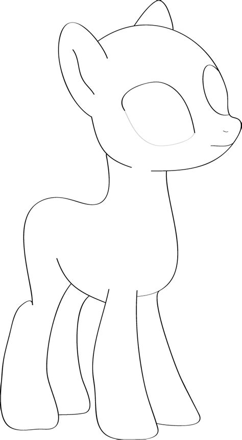 my little pony coloring pages bases my little pony base 1 by piucca on deviantart