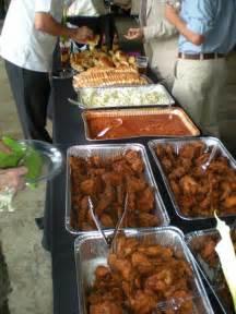 wing barn menu home southern wedding buffet dpmc weddings