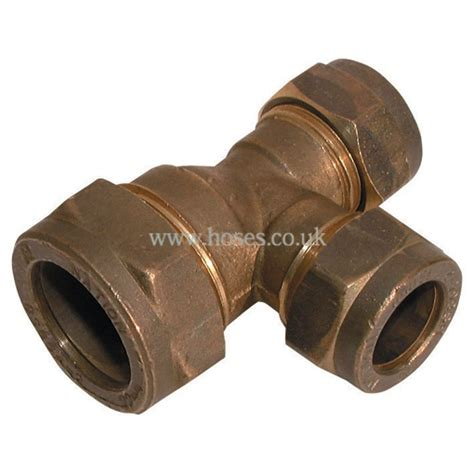 Faucet Compression Fitting by Reducing Metric Brass Plumbing Compression Fitting