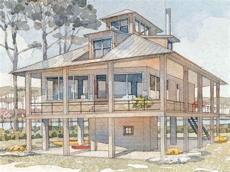 Raised Cottage House Plans by Tidewater Cottage House Plans Raised Low Country House