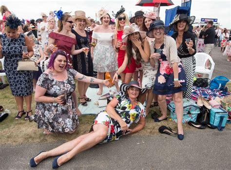 Last Day At Royal Ascot Resembles A Muddy Day At Glastonbury by Royal Ascot Day Sees Rowdy Racegoers Fall At The